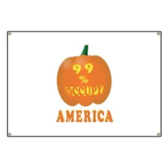 occupy america pumpkin Banner