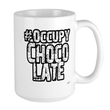 Occupy Chocolate Mug
