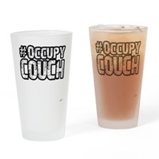 Occupy Couch Drinking Glass