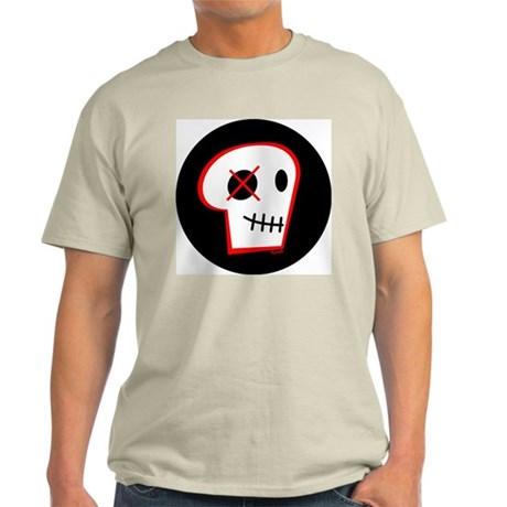 Red Skull-o Ash Grey T-Shirt