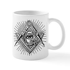 Masonic Eye Coffee Mug (Left hand)