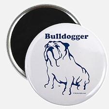 Bulldogger Button Magnet