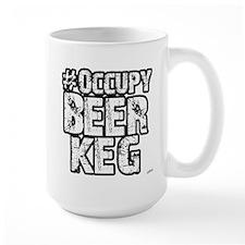 Occupy Beer Keg Mug