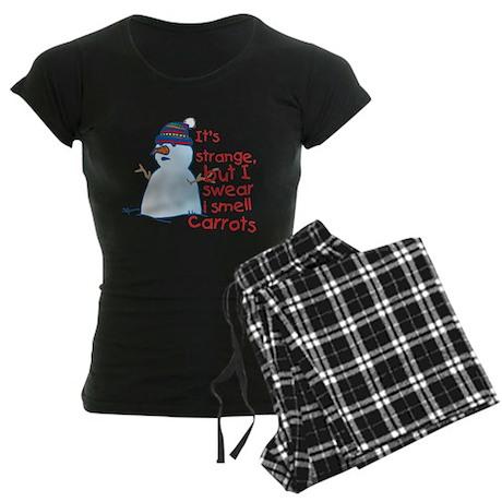 Smell Carrots Women's Dark Pajamas