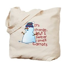 Smell Carrots Tote Bag