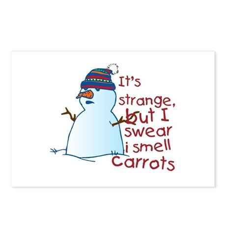 Smell Carrots Postcards (Package of 8)
