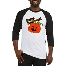 Funny Halloween Pumpkin Baseball Jersey