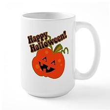 Funny Halloween Pumpkin Mug