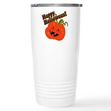 Funny Halloween Pumpkin Travel Mug