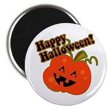 "Funny Halloween Pumpkin 2.25"" Magnet (10 pack)"