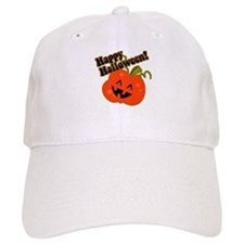 Funny Halloween Pumpkin Baseball Cap