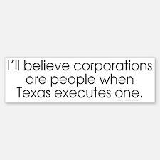 Texas Executes STT Bumper Bumper Bumper Sticker