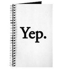 Yep. Journal