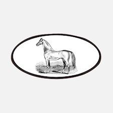 Quarter Horse Artwork Patches