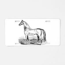 Quarter Horse Artwork Aluminum License Plate