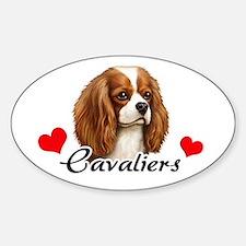 Love Cavaliers Bumper Stickers