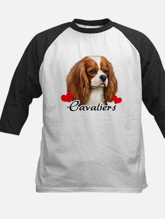 Love Cavaliers Kids Baseball Jersey