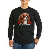 King charles cavalier Long Sleeve T-shirts (Dark)