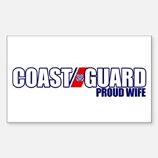 USCG Wife Decal