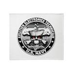 USN Aviation Electronics Tech Throw Blanket