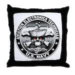 USN Aviation Electronics Tech Throw Pillow