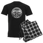 USN Aviation Electronics Tech Men's Dark Pajamas