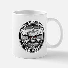 USN Naval Aircrewman Skull Mug