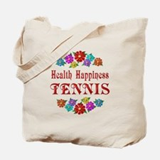 Tennis Happiness Tote Bag