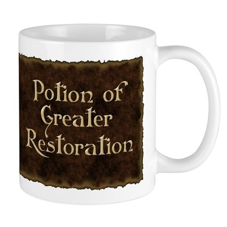 Potion Of Greater Restoration Coffee Mug