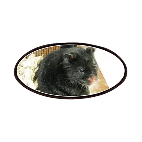 Black Hamster Patches
