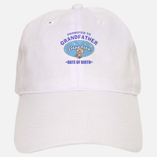 Personalized New Grandfather Grandson Baseball Baseball Cap