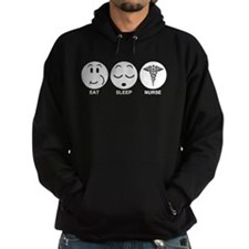 Eat Sleep Nurse Hoodie
