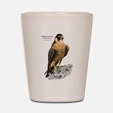 Peregrine Falcon Shot Glass