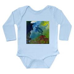Below The Storm Long Sleeve Infant Bodysuit