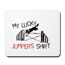 My Lucky Jumpers Shirt Mousepad