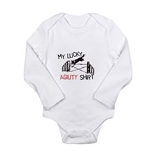 My Lucky Agility Shirt -Jump Long Sleeve Infant Bo