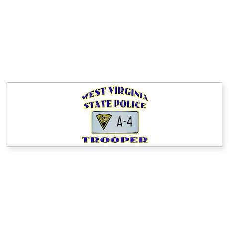 West Virginia State Police Sticker (Bumper)