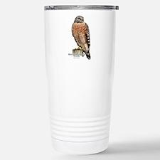 Red-Shouldered Hawk Travel Mug