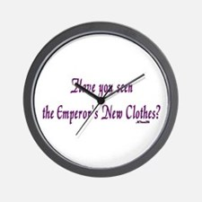 Have you seen the Emperor's N Wall Clock