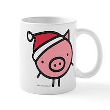 Cute Santa Pig Mug