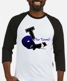 T is for Tunnel Baseball Jersey