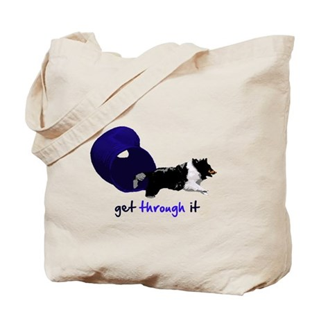 Get Through It Tunnel Tote Bag