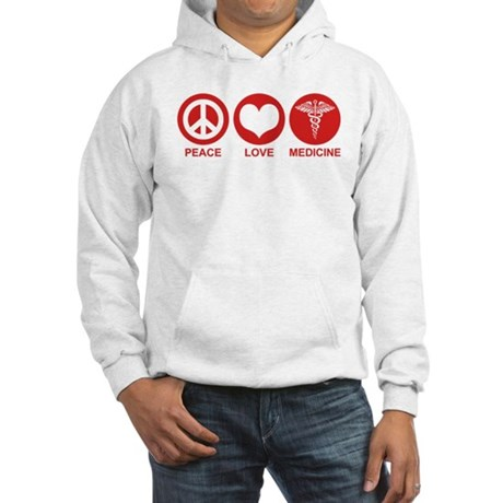 Peace Love Medicine Hooded Sweatshirt