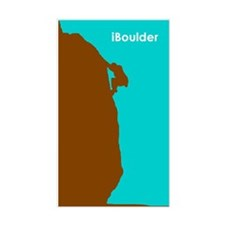 iBoulder Rectangle Decal