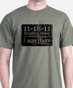 11-18-11 I Was There Breaking T-Shirt