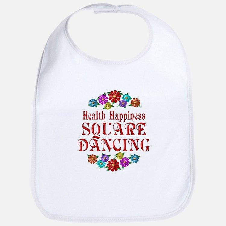Square Dancing Happiness Bib