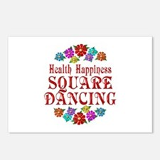 Square Dancing Happiness Postcards (Package of 8)