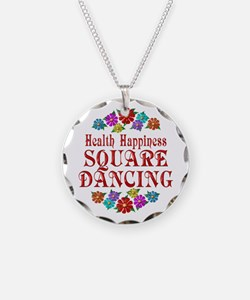Square Dancing Happiness Necklace