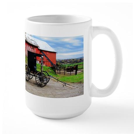 Country Scene Large Mug