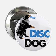 "Disc Dog 2.25"" Button"